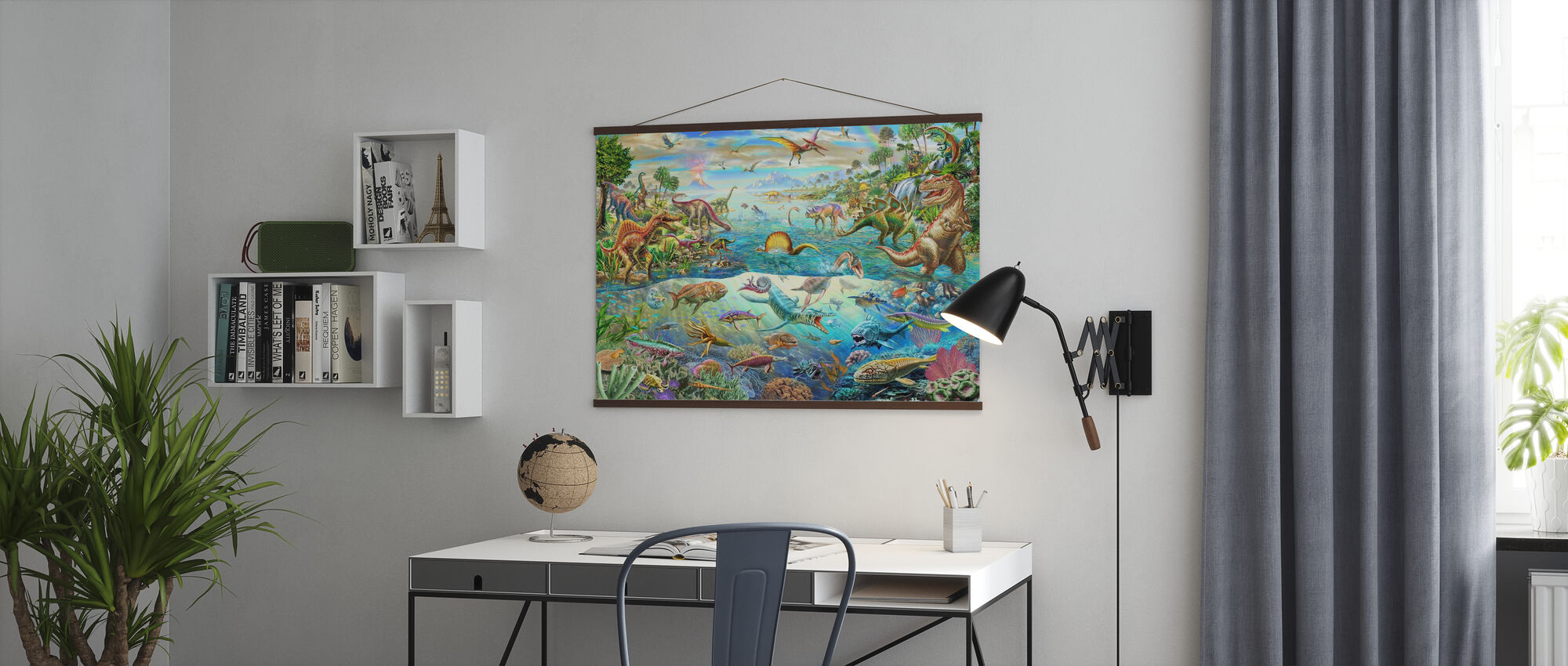 Prehistoric Paradise - Poster - Office