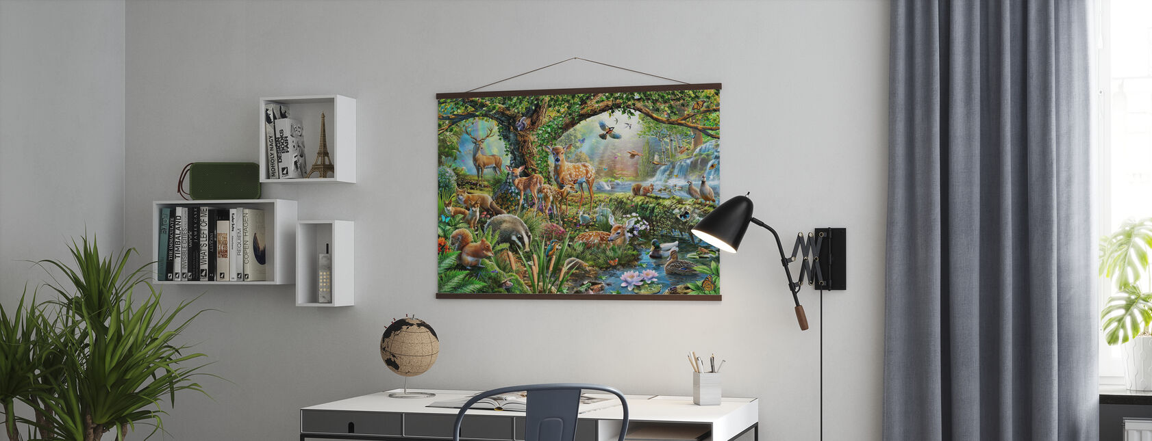 Woodland Creatures - Poster - Office