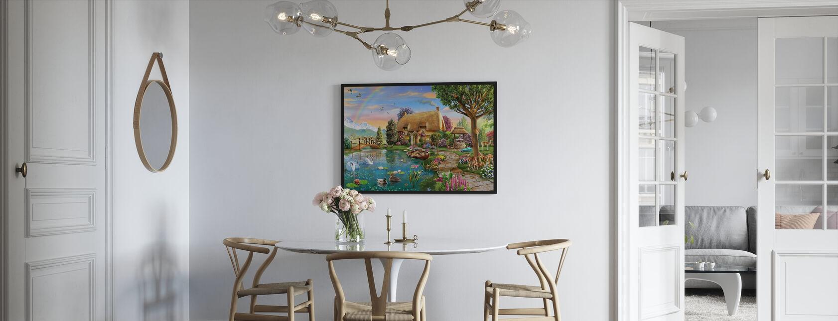 Lakeside Cottage - Poster - Kitchen