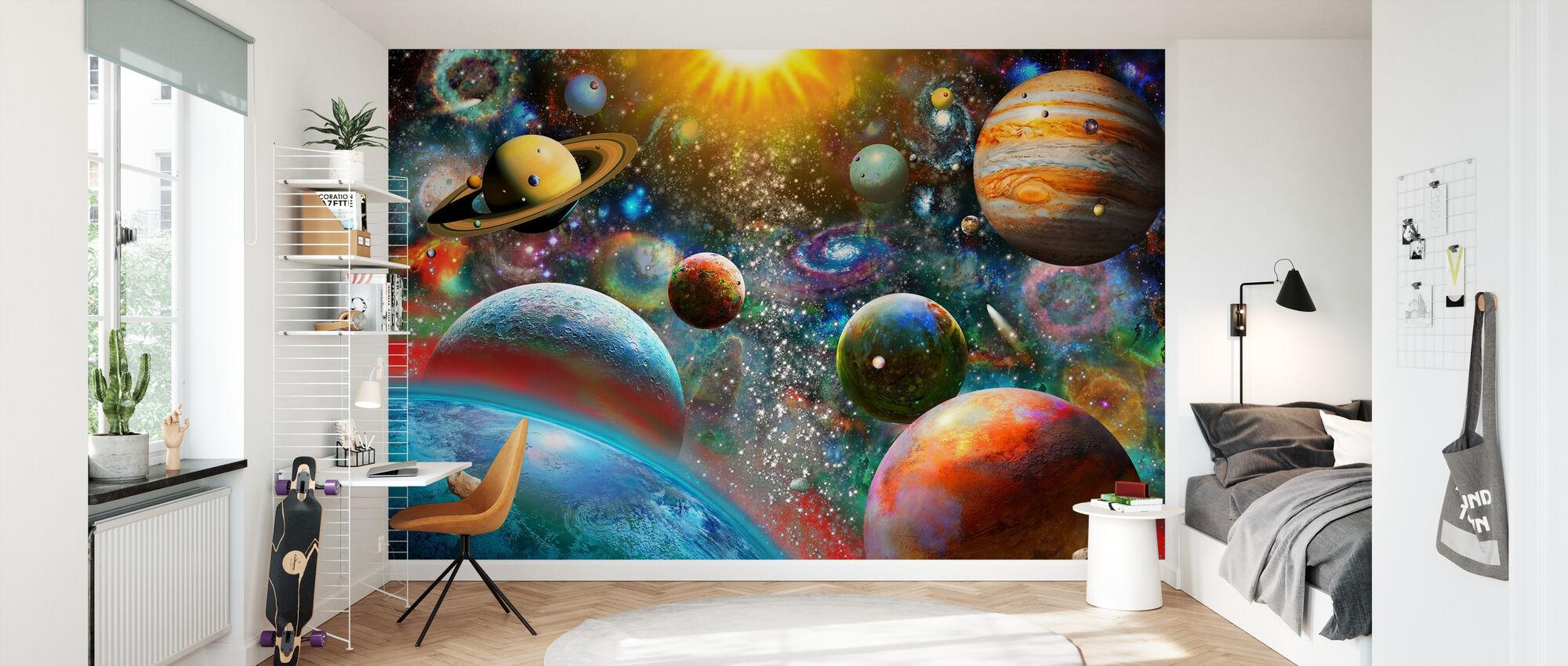 Firmament - Wallpaper - Kids Room