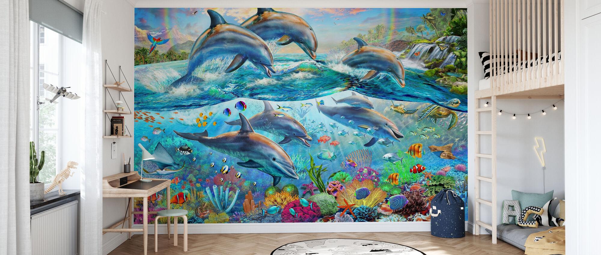Tropical Seaworld - Wallpaper - Kids Room