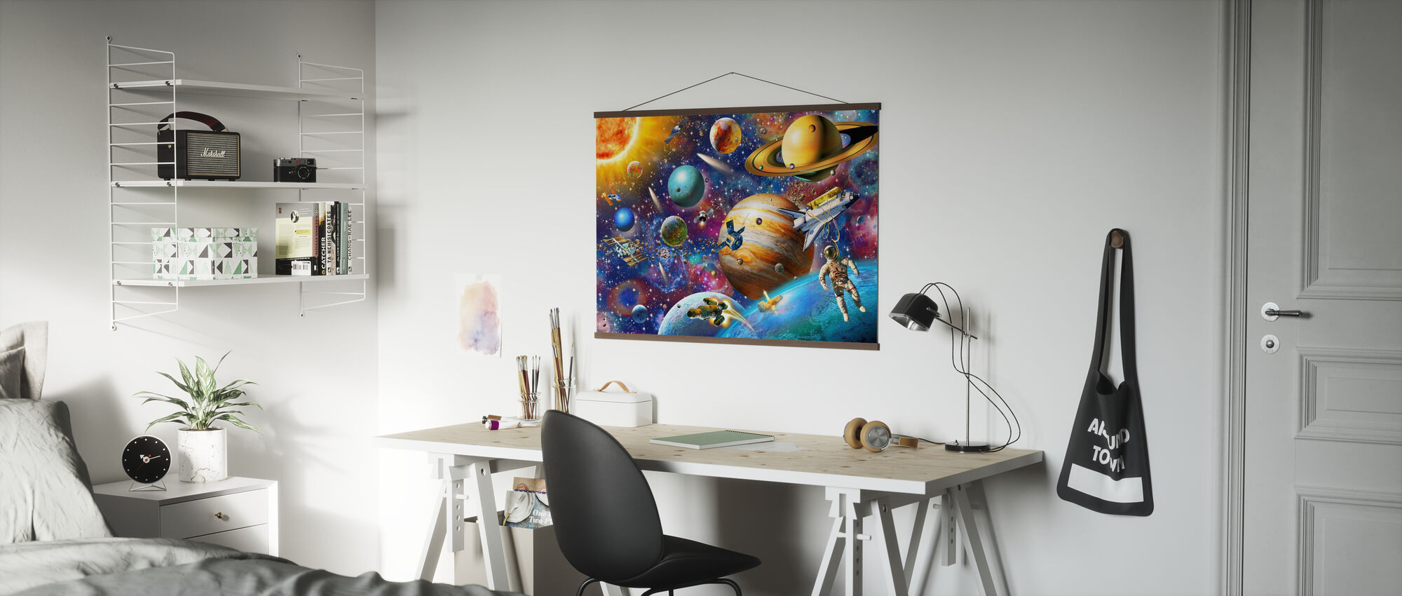 Aurinkokunta Odyssey - Juliste - Toimisto