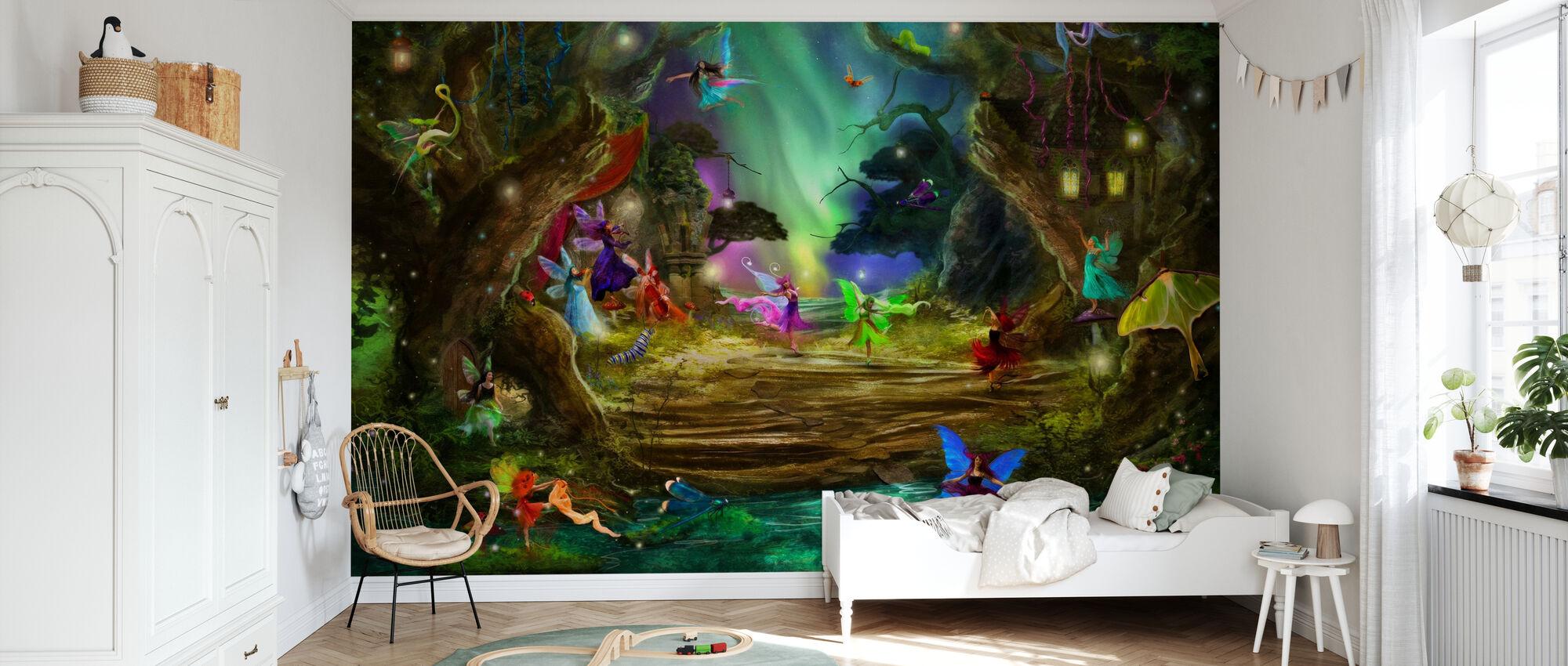 Tanssi Aurorat - Tapetti - Lastenhuone