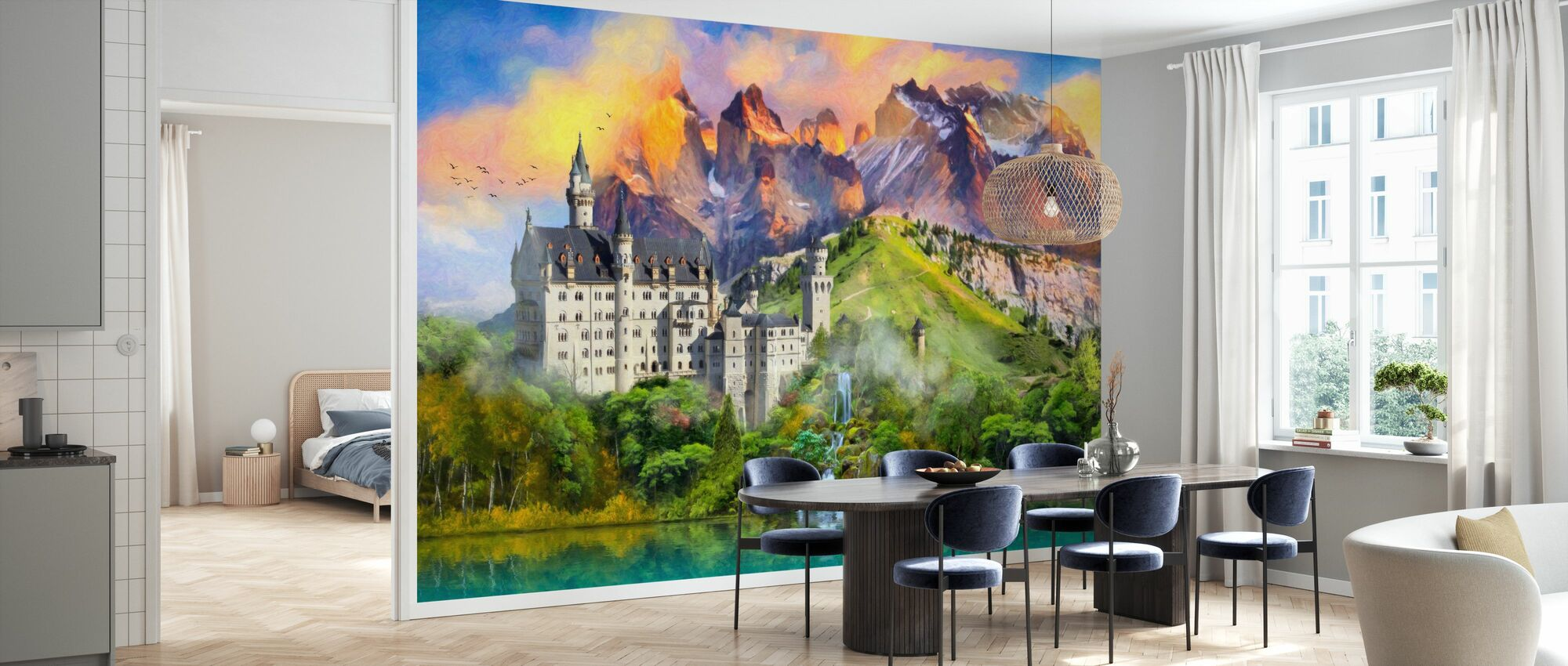 Castle Majesty - Wallpaper - Kitchen