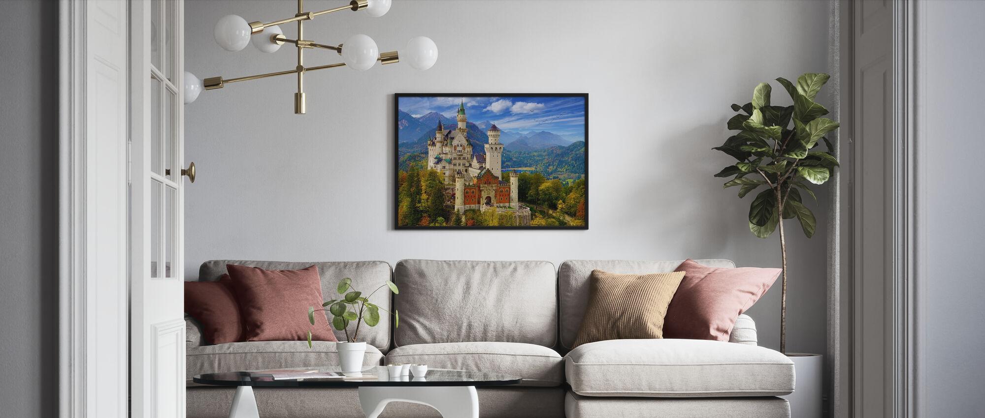 Neuschwanstein Castle - Poster - Living Room