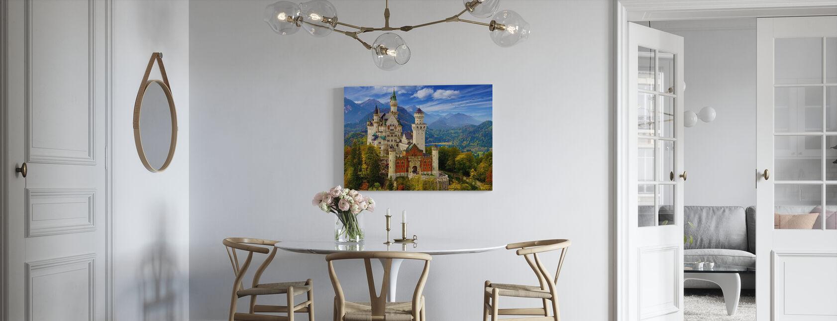 Neuschwanstein Castle - Canvas print - Kitchen