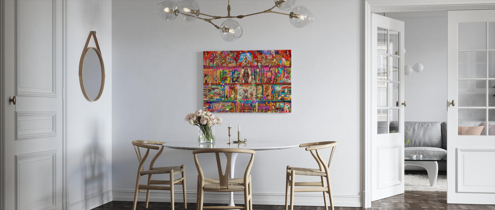 Circus Extravaganza - Canvas print - Kitchen