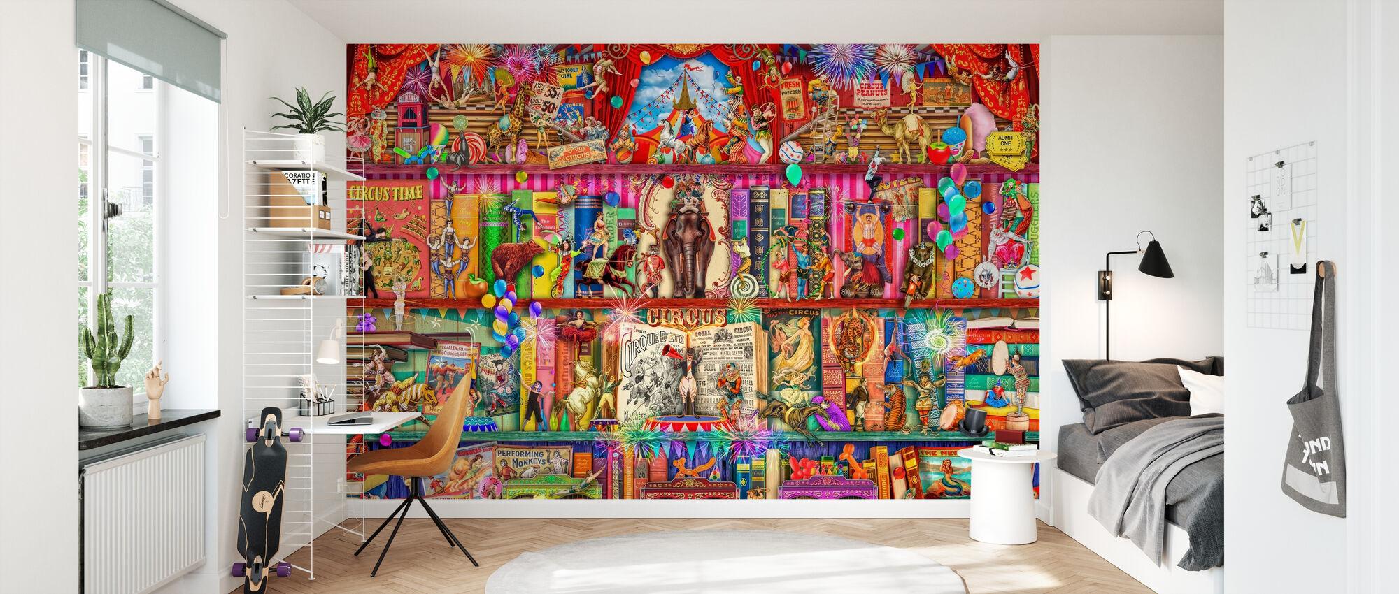 Zirkus Extravaganza - Tapete - Kinderzimmer