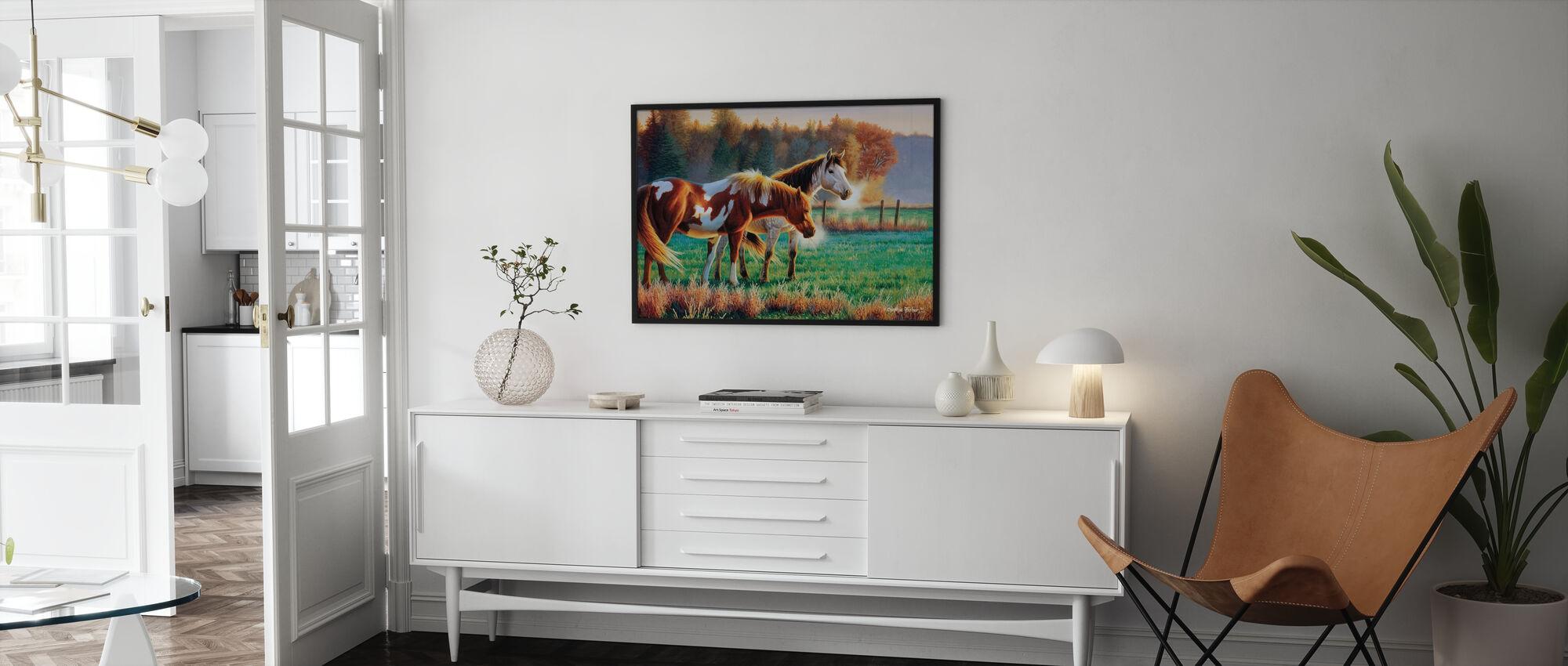 Pasture Buddies - Poster - Living Room
