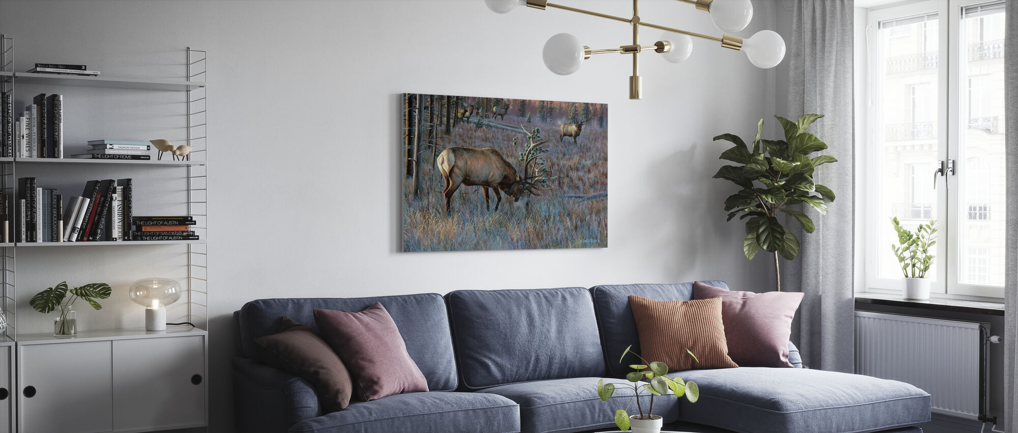He Who Dares - Canvas print - Living Room