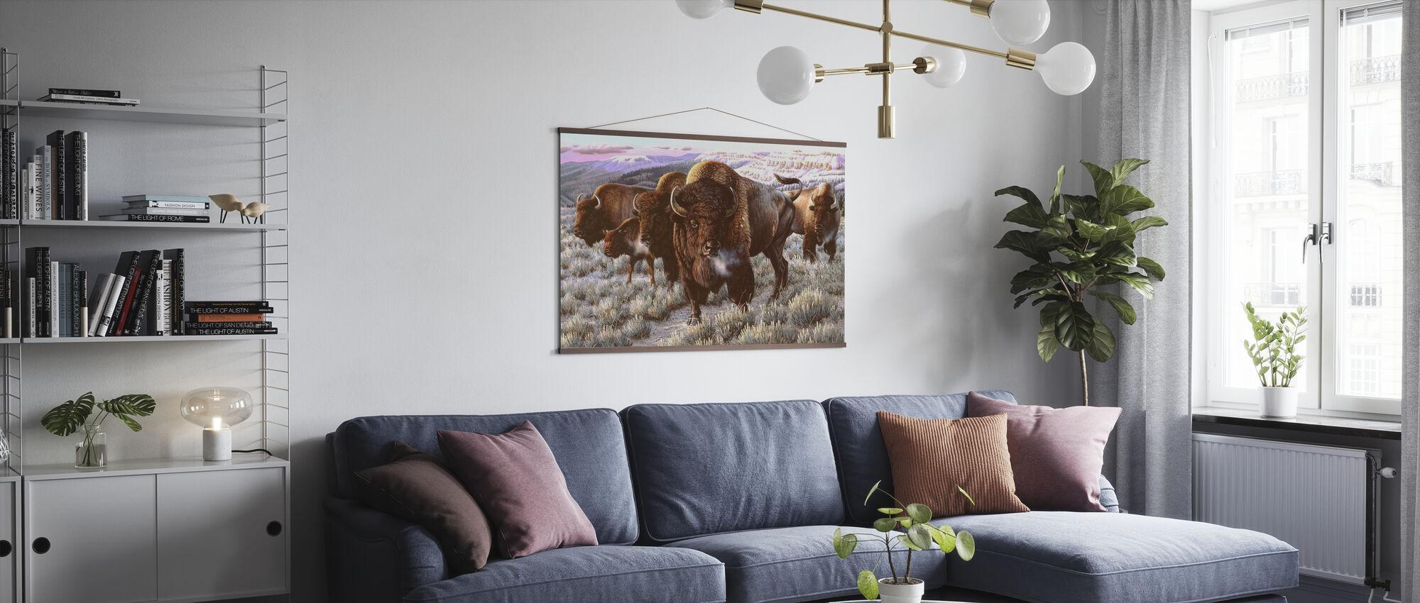 Prairie Thunder - Poster - Living Room