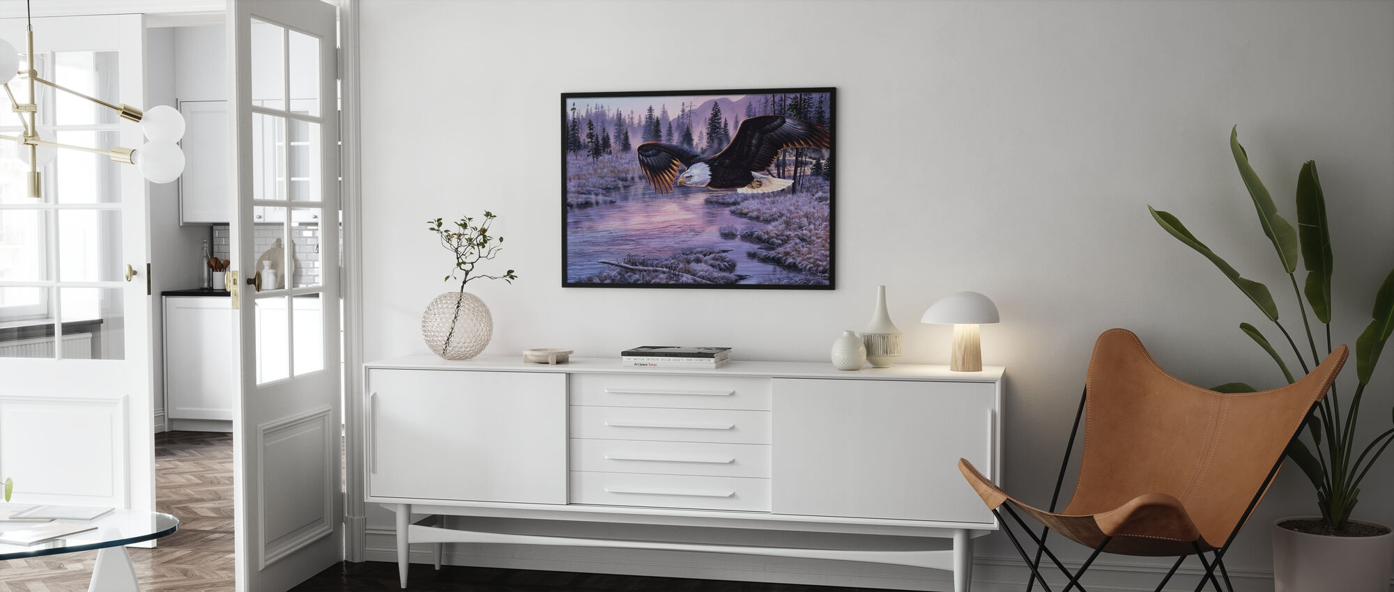 Dawns Early Flight - Poster - Living Room