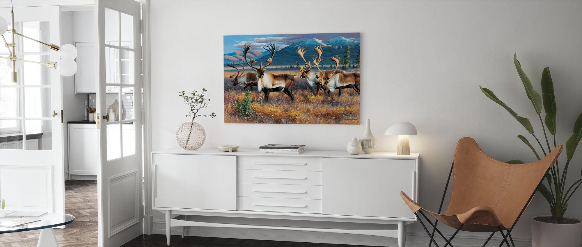 Northern Nomads - Canvas print - Living Room