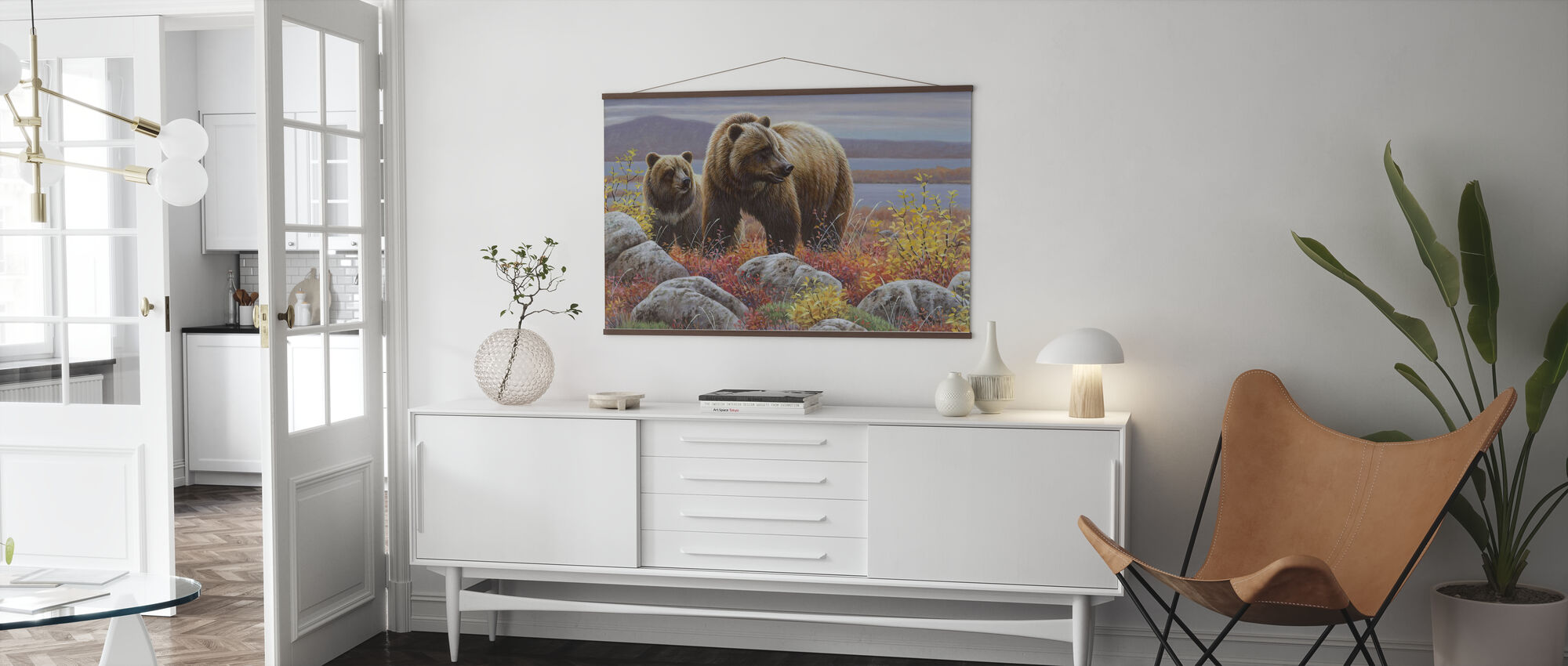 Griz and Cub - Poster - Living Room