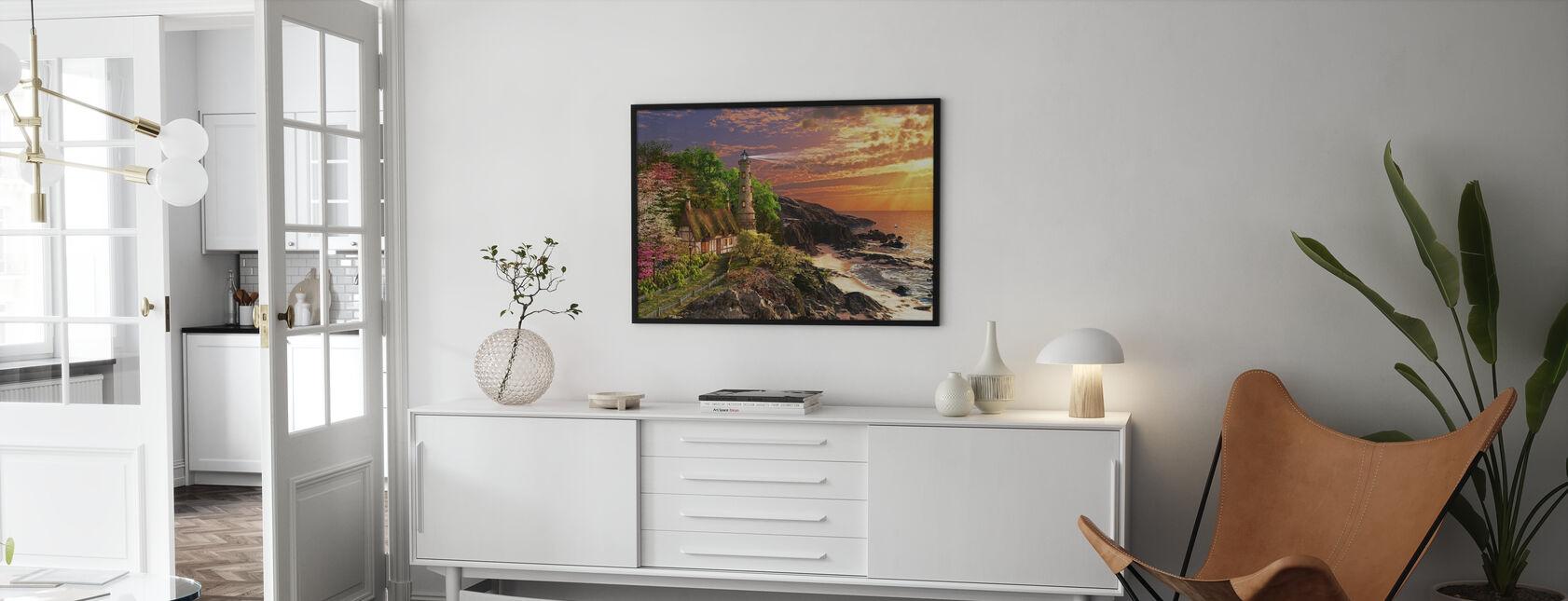 Stoney Cove - Framed print - Living Room