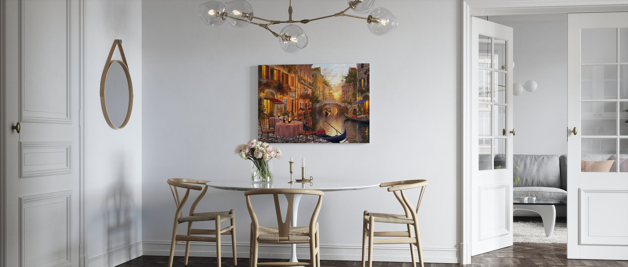 The Venitian Sunset - Canvas print - Kitchen