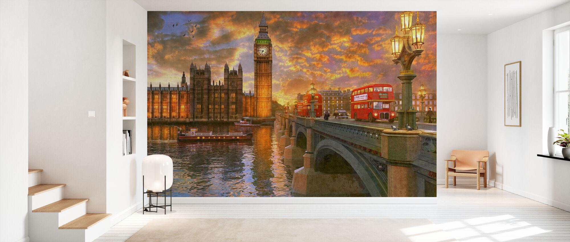 Westminster Sunset - Wallpaper - Hallway