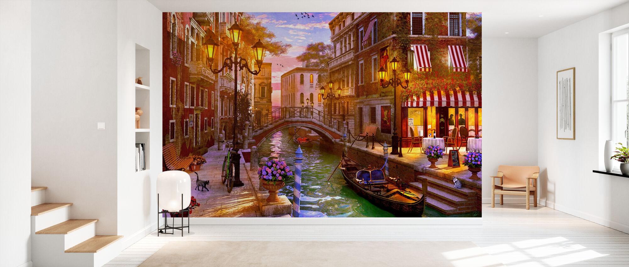 Sunset over Venice - Wallpaper - Hallway