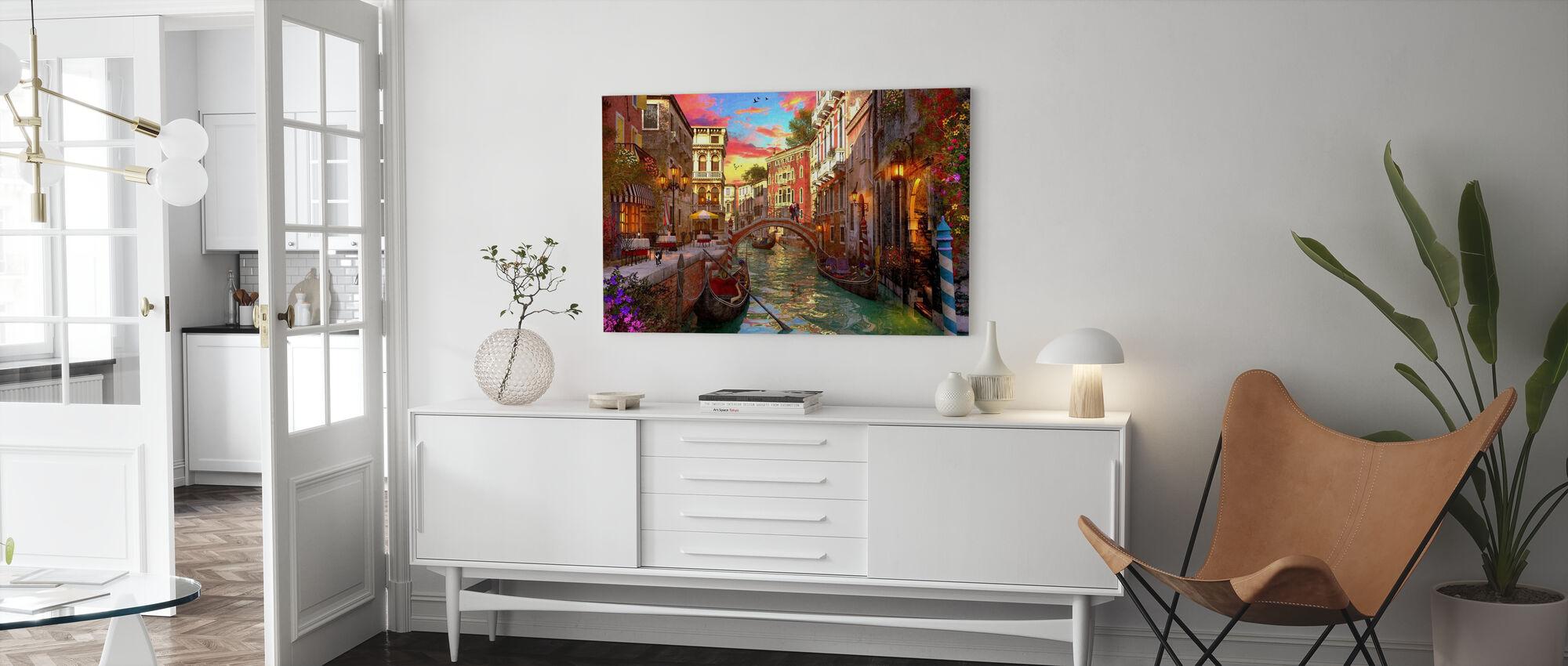 Venice Romance - Canvas print - Living Room