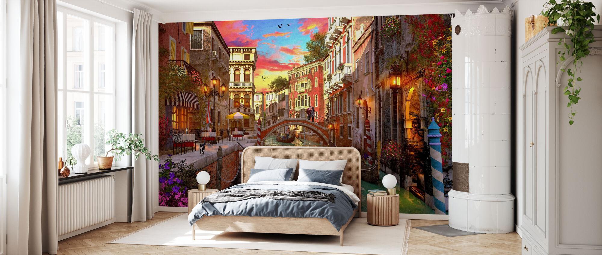 Venice Romance - Wallpaper - Bedroom