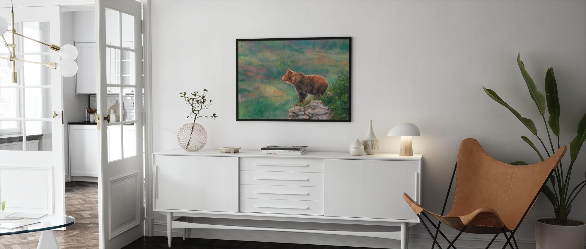European Brown Bear - Poster - Living Room