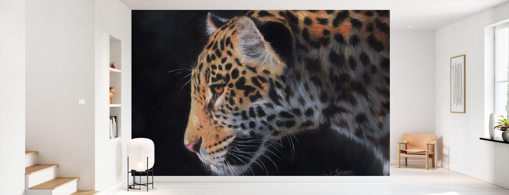Jaguar Portrait - Wallpaper - Hallway