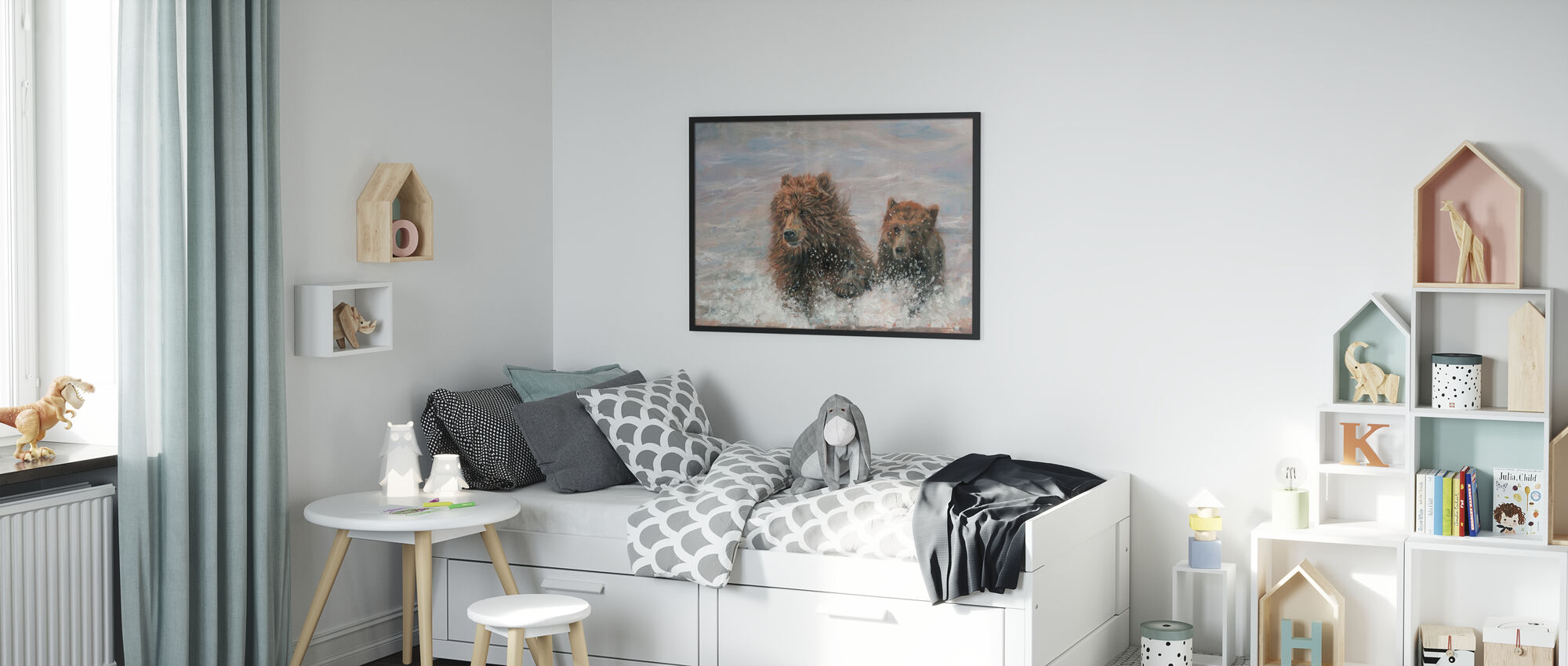 The Bears are Coming - Poster - Kids Room