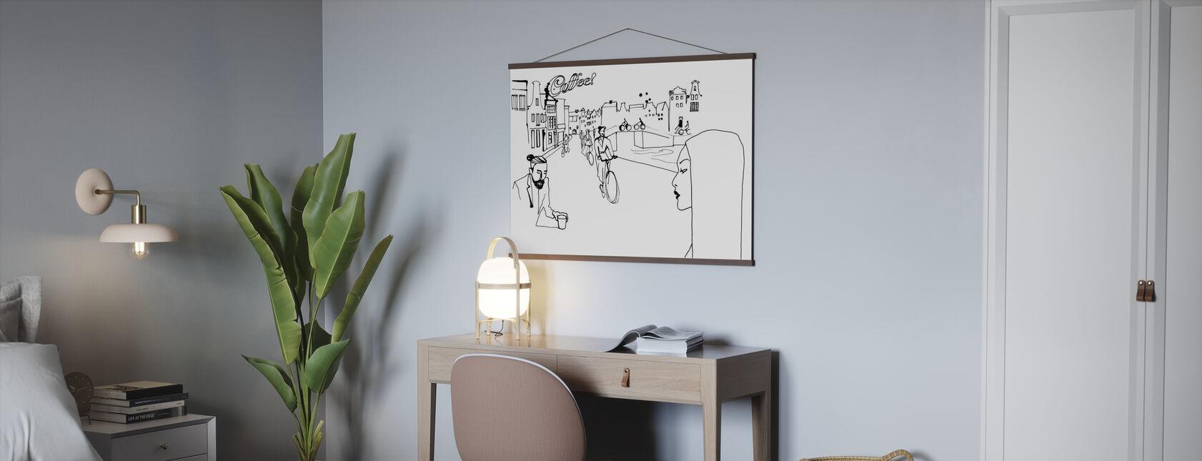 Amsterdamie - Plakat - Biuro