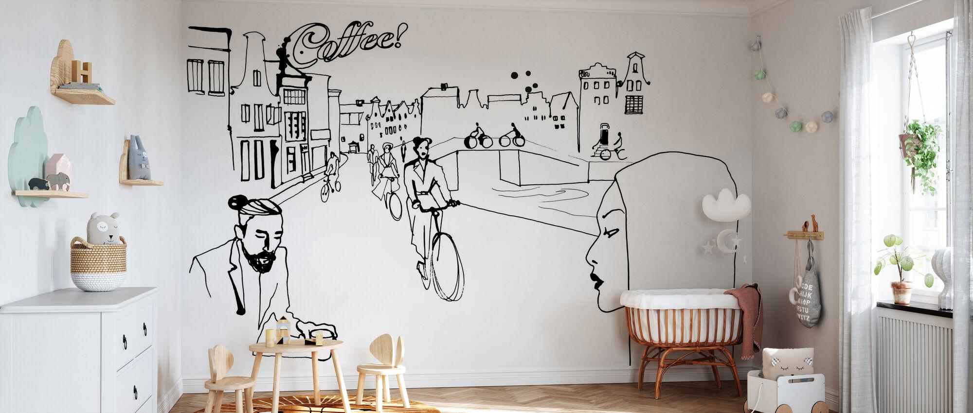 Amsterdam - Wallpaper - Nursery
