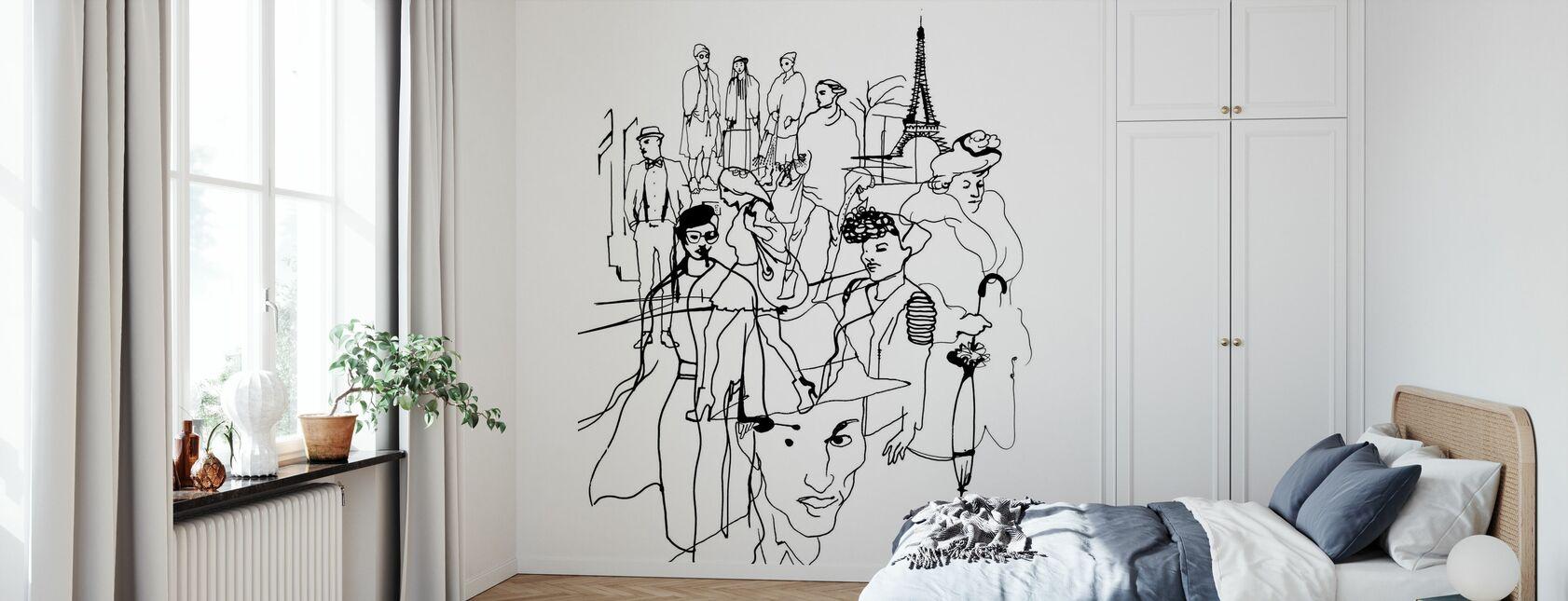 Paris - Wallpaper - Bedroom