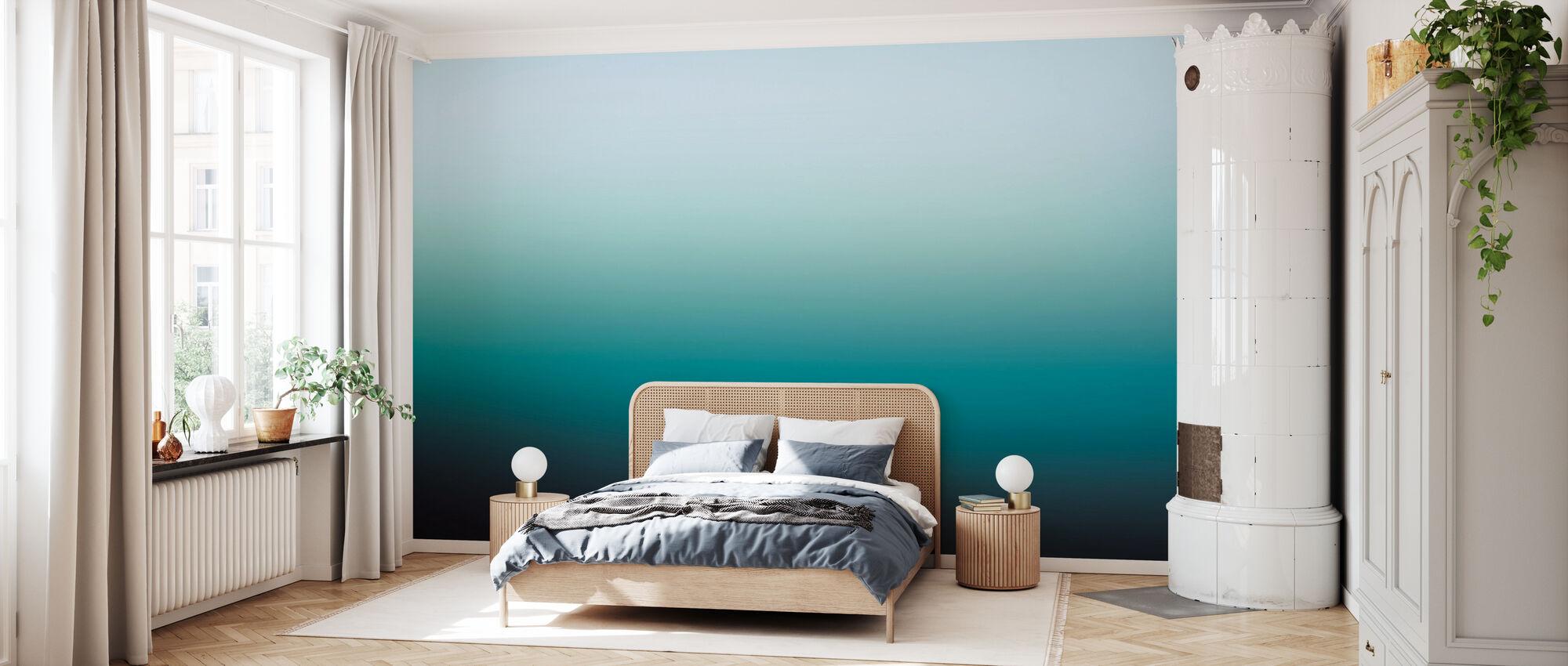 Miami Emeraude - Papier peint - Chambre