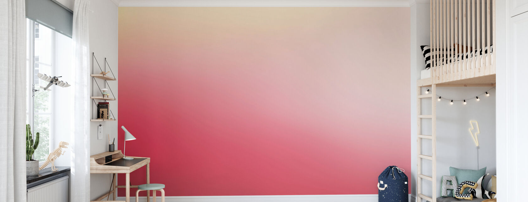 Miami vaaleanpunainen rypäleen - Tapetti - Lastenhuone