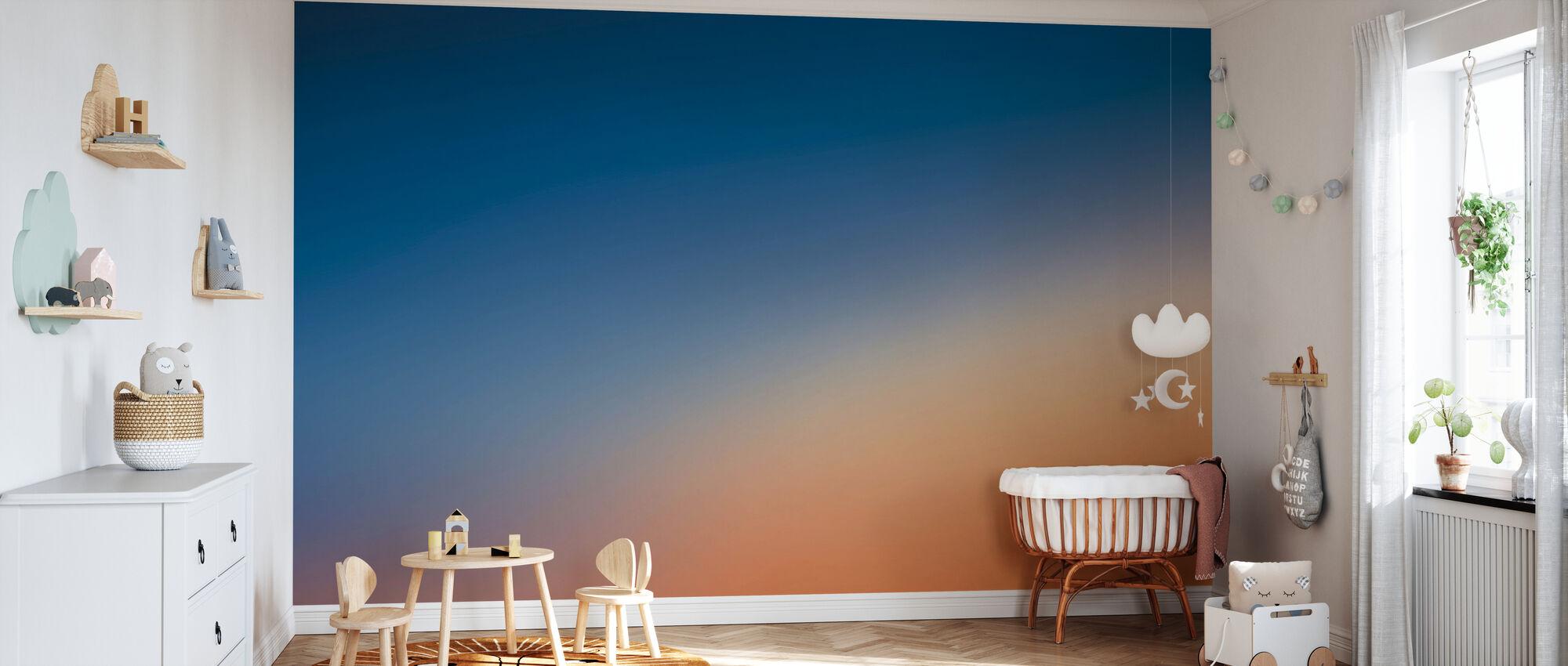 Miami Sunset - Wallpaper - Nursery