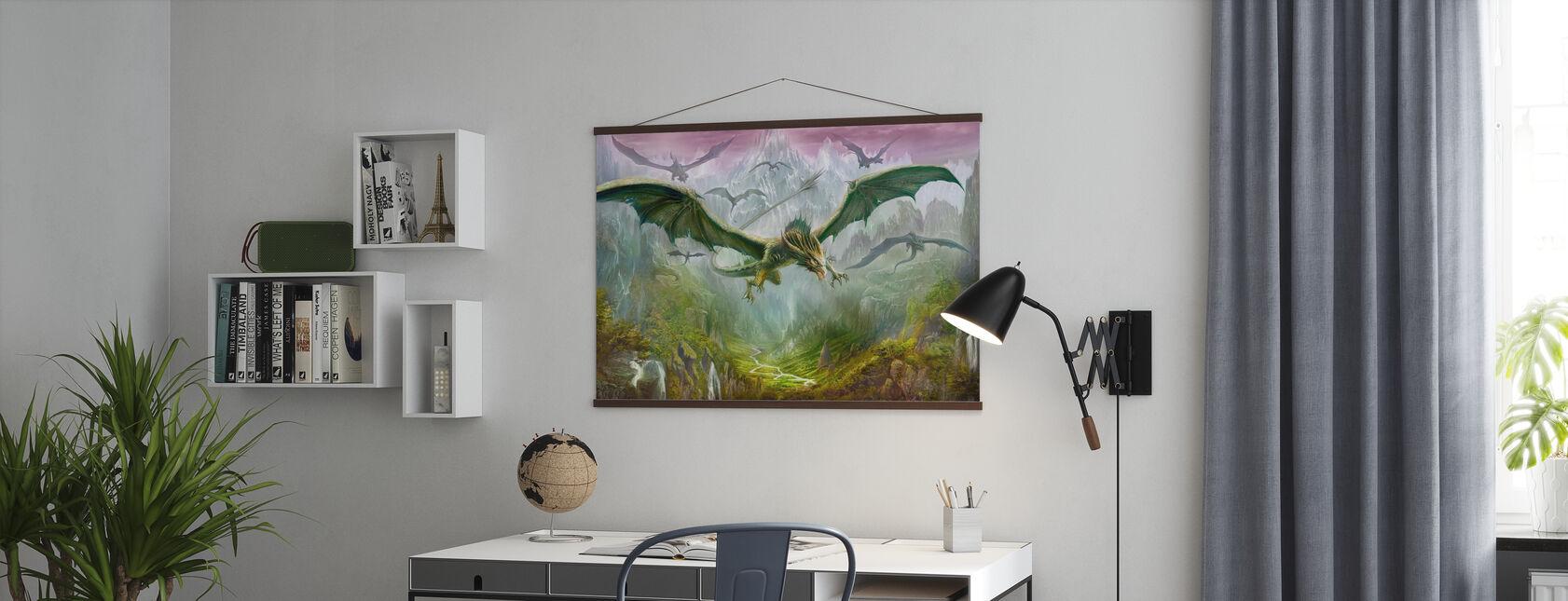 Drakarnas dal - Poster - Kontor