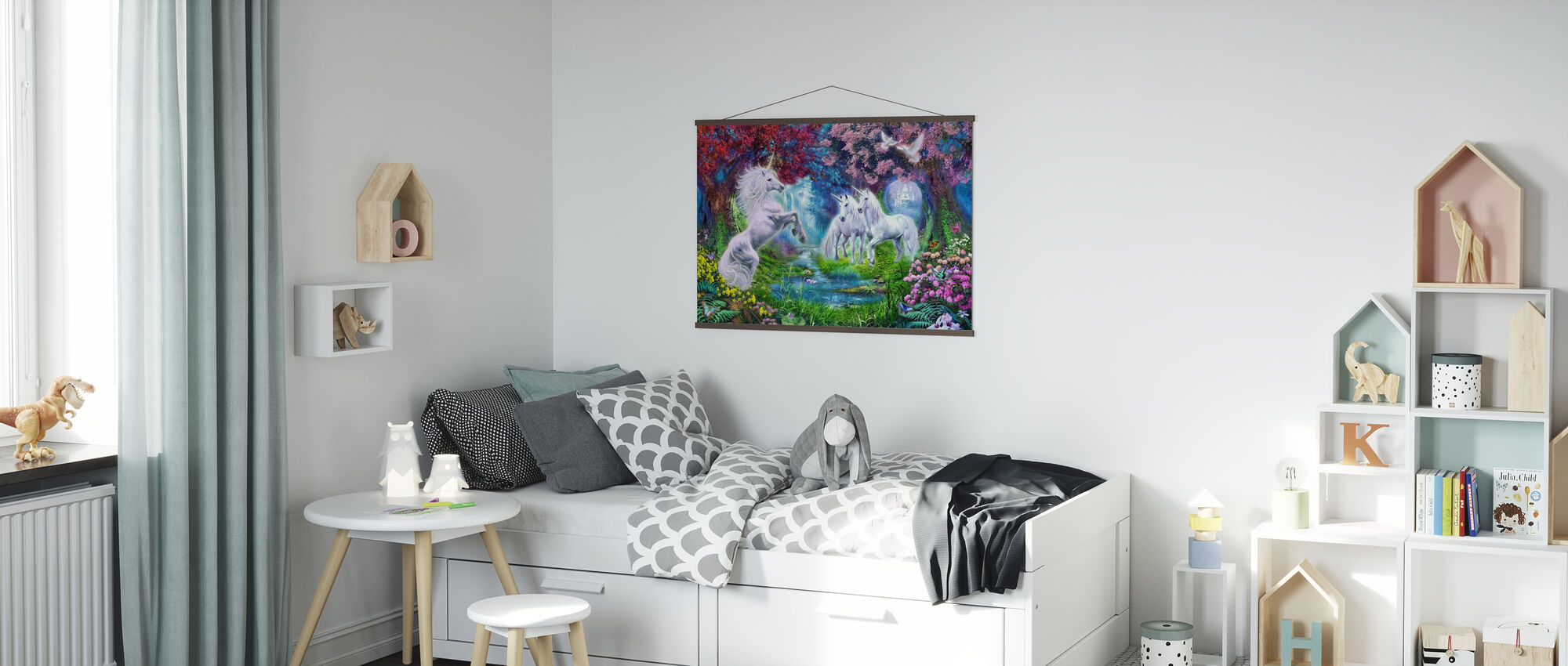 Unicorn Rendezvous - Poster - Kids Room