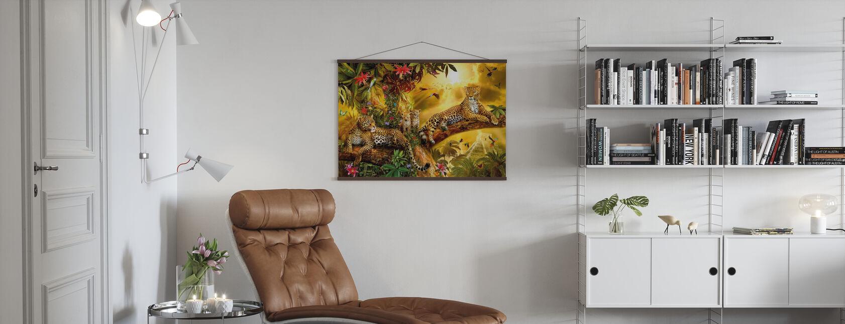 Jungle Jaguars - Poster - Living Room