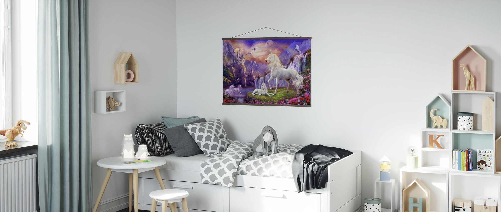 Am frühen Abend - Poster - Kinderzimmer