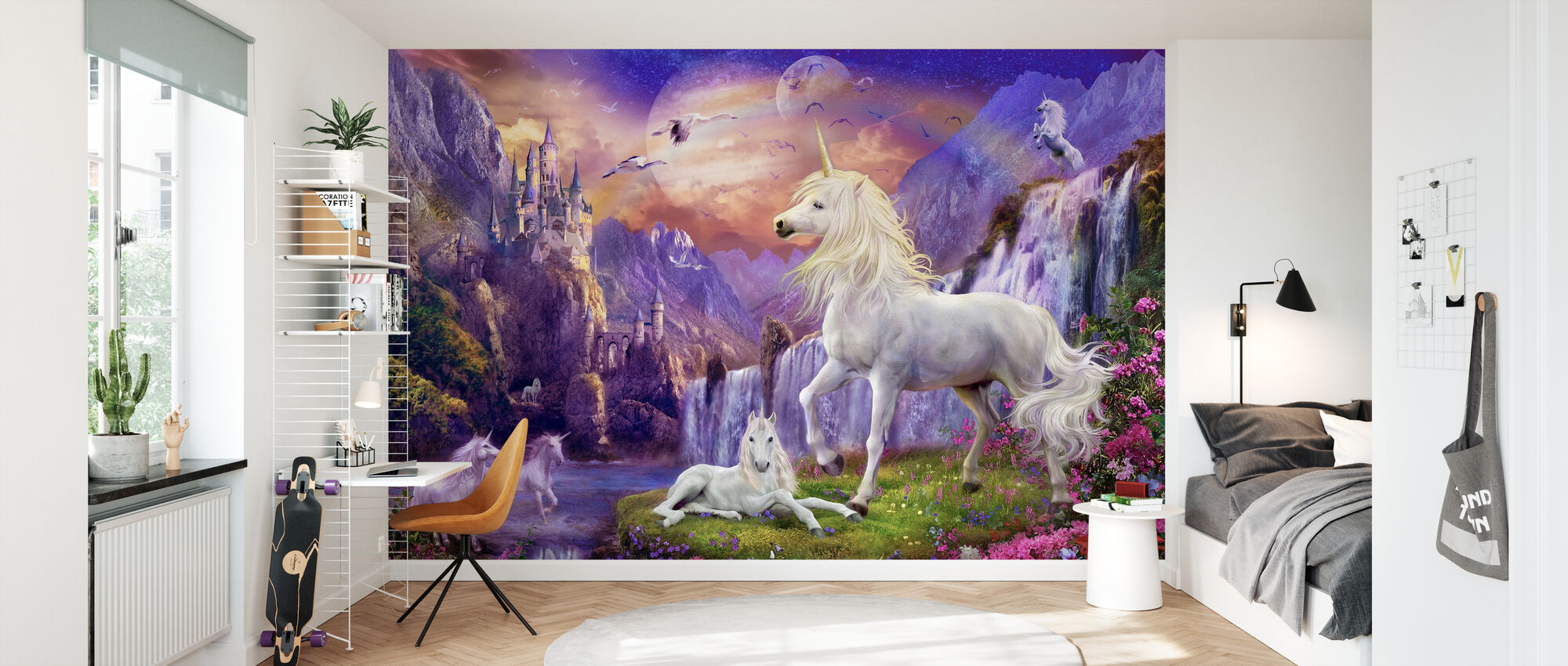 Early Evening - Wallpaper - Kids Room