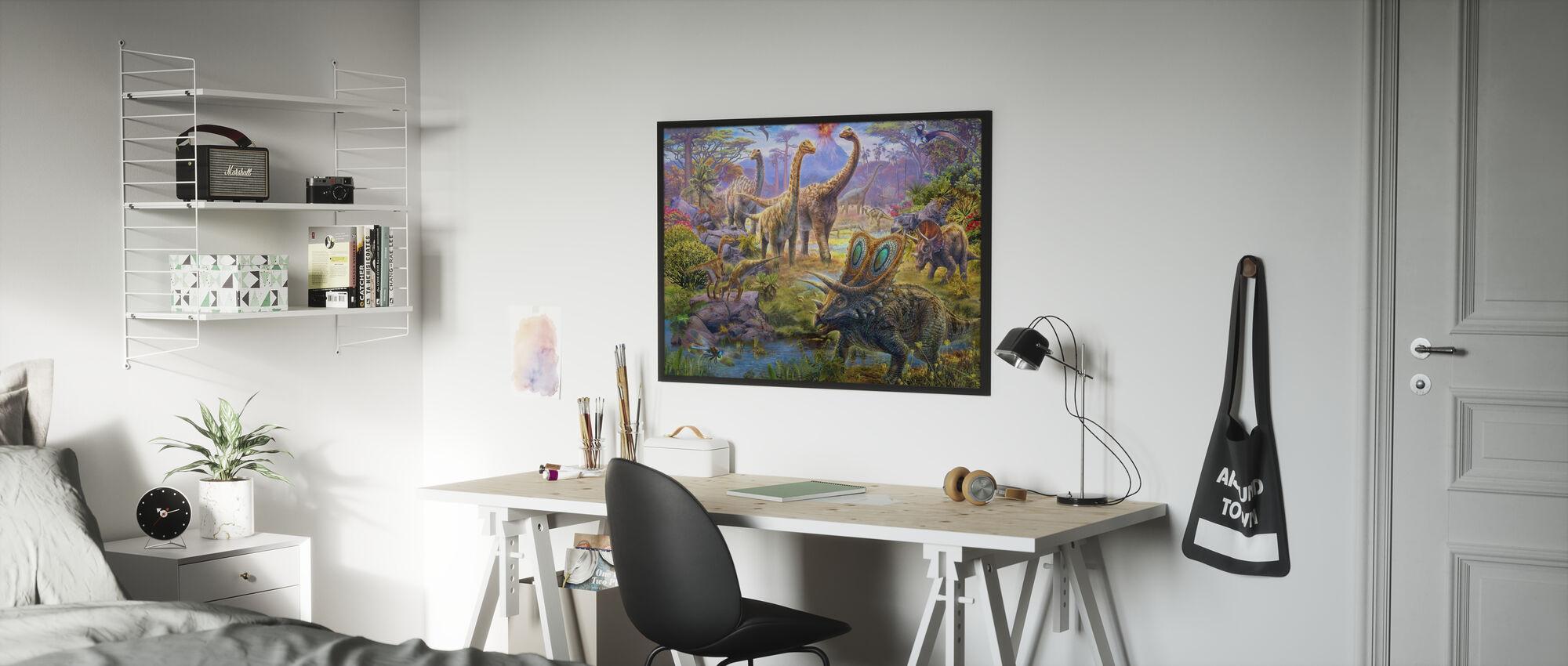 Sauropoden - Poster - Kinderzimmer