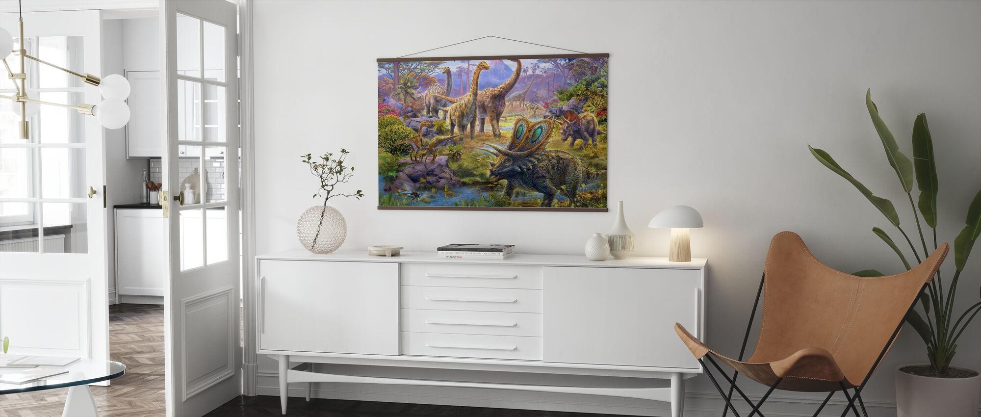 Sauropoden - Poster - Wohnzimmer