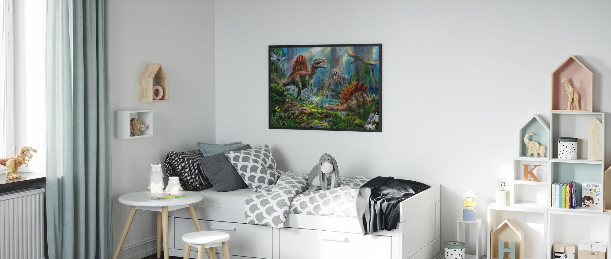 Spinosaur - Framed print - Kids Room