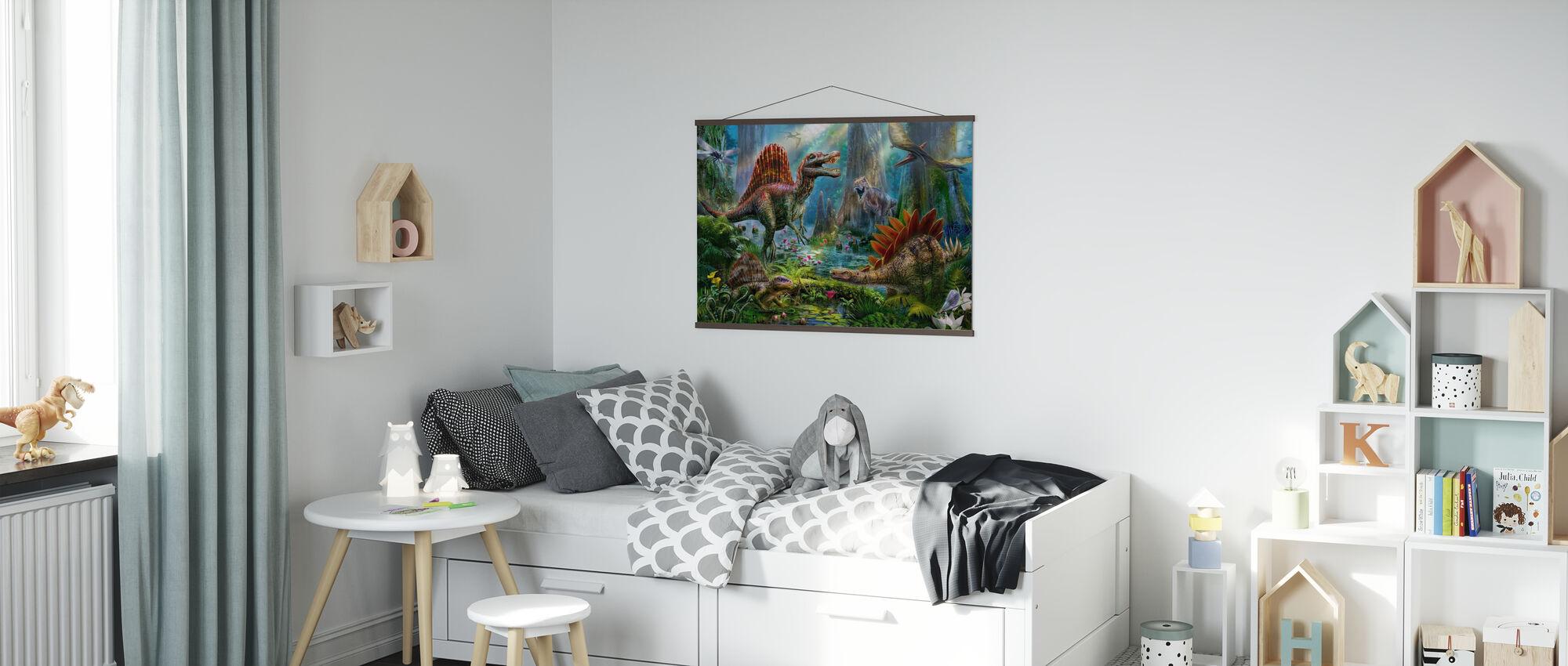Spinosaur - Plakat - Barnerom