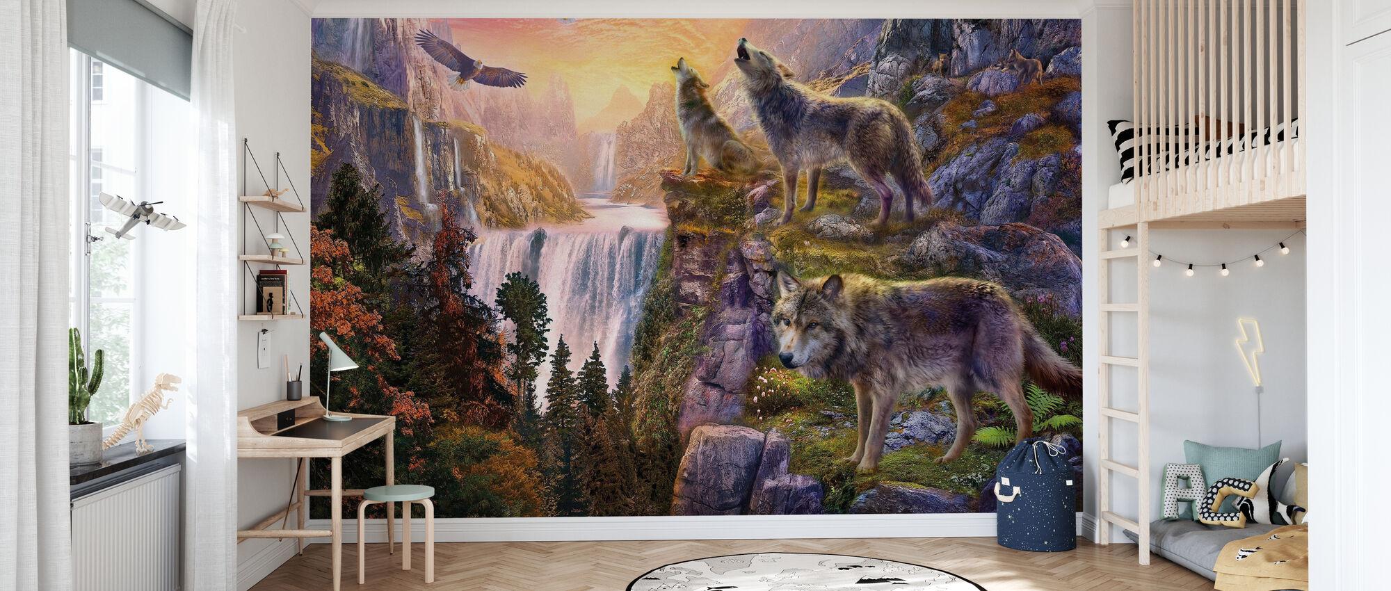 Wolf Søn - Tapet - Barnerom