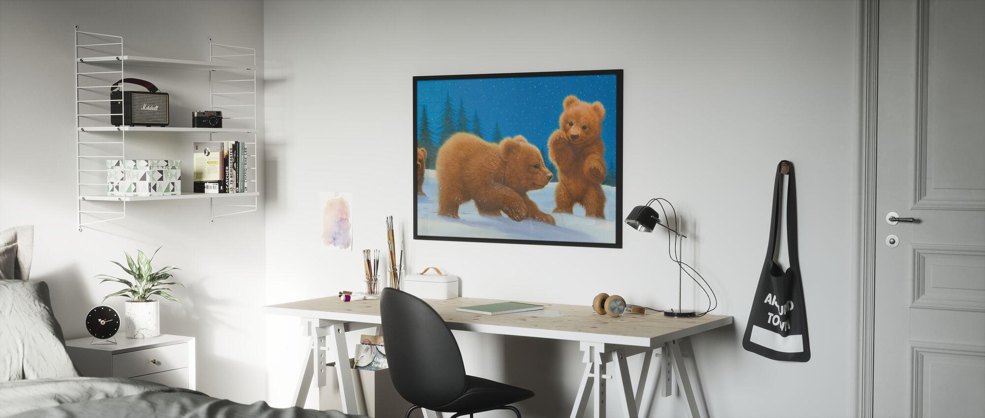 Follow the Bear - Poster - Kids Room