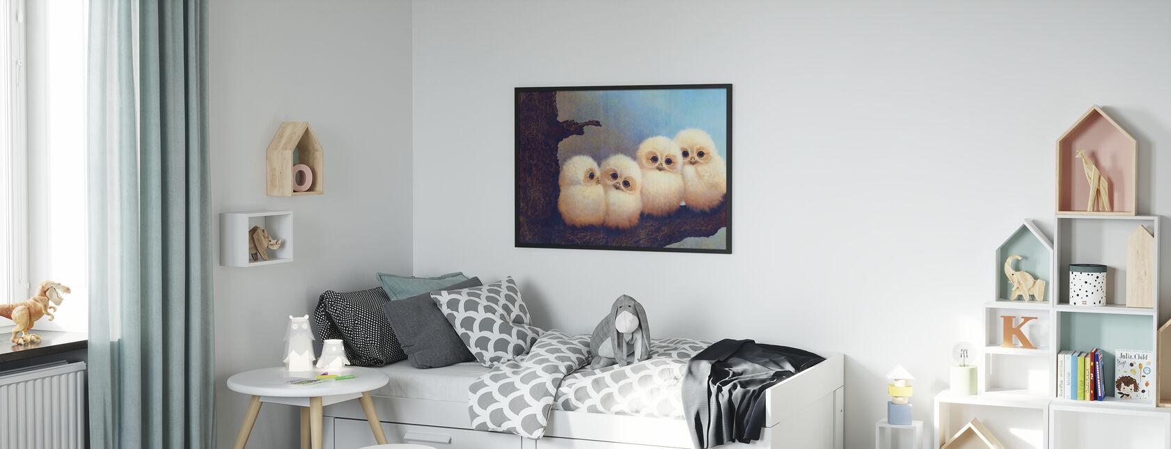 De Owlets - Poster - Kinderkamer