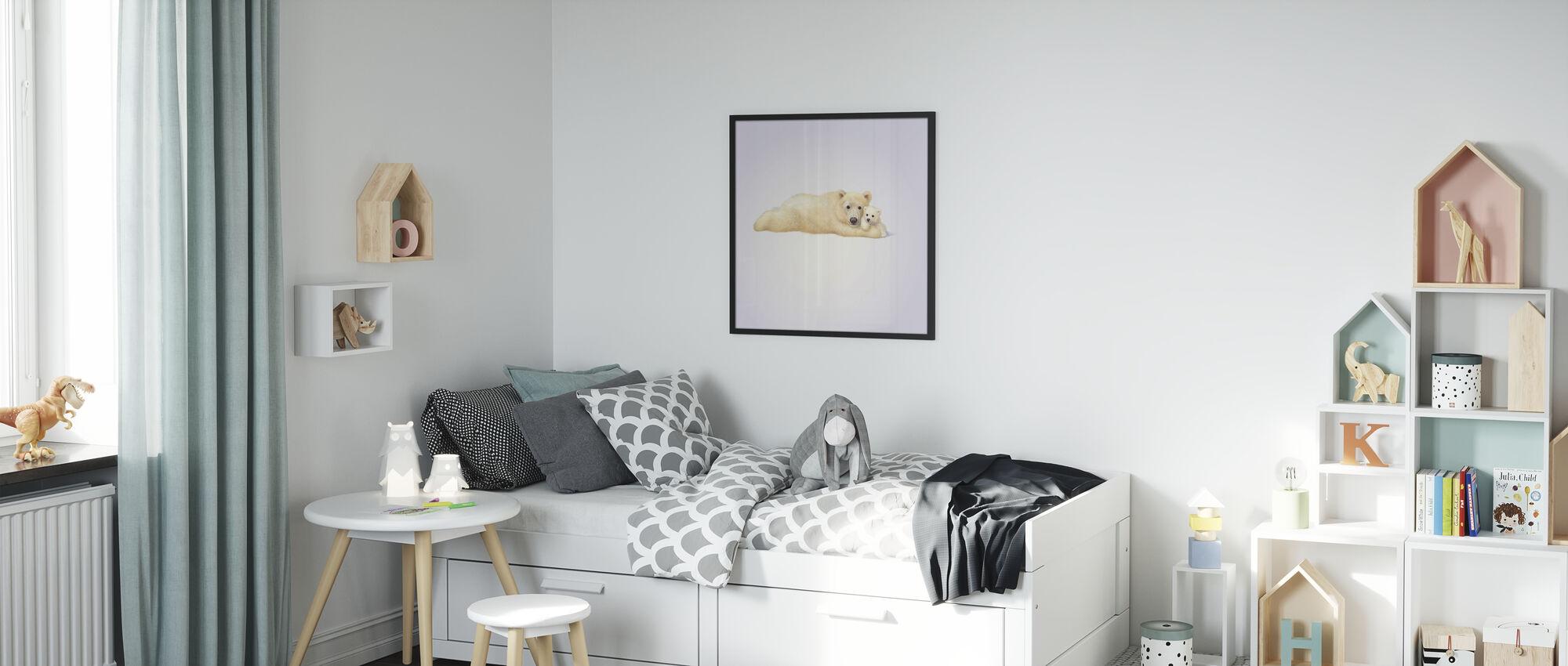 Polar Bear Cub - Poster - Kids Room