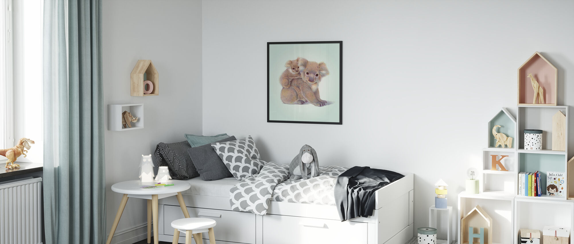 Koala Baby - Poster - Kids Room