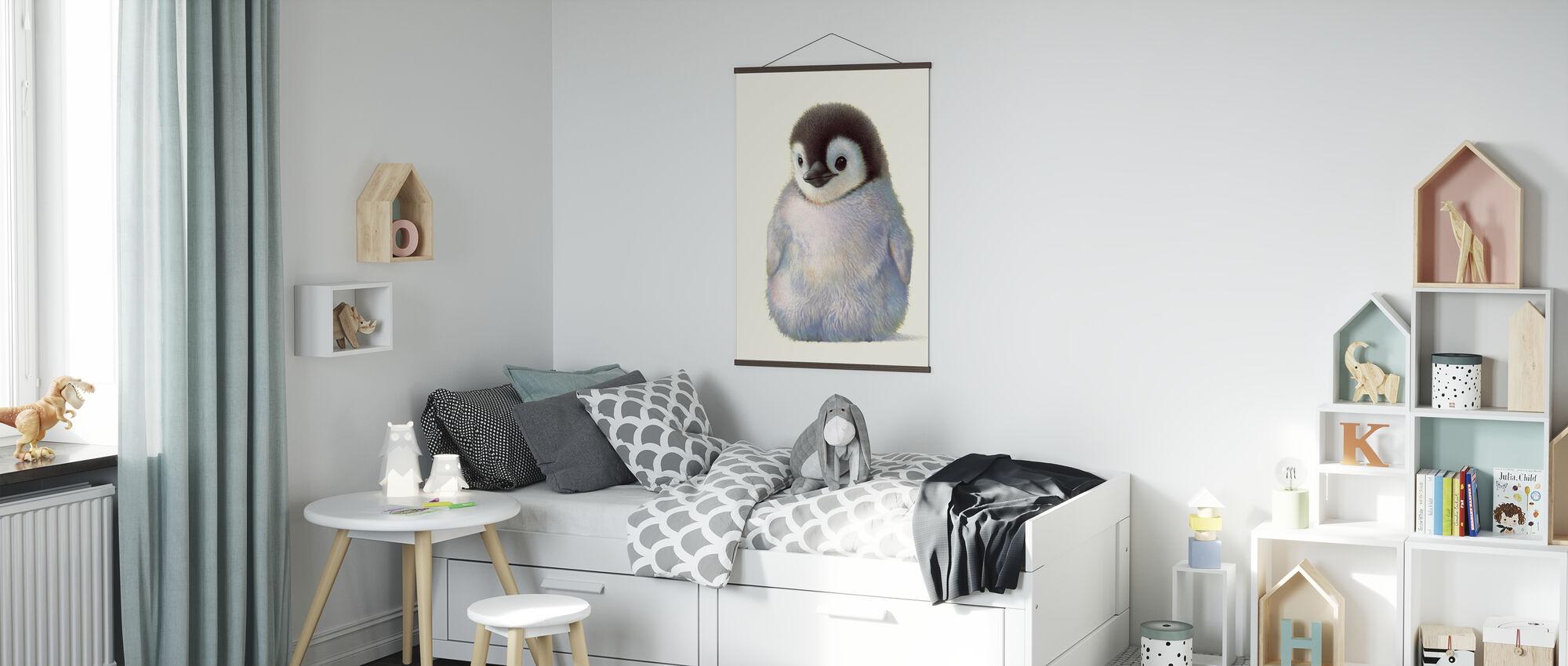 Pingviini poikanen - Juliste - Lastenhuone