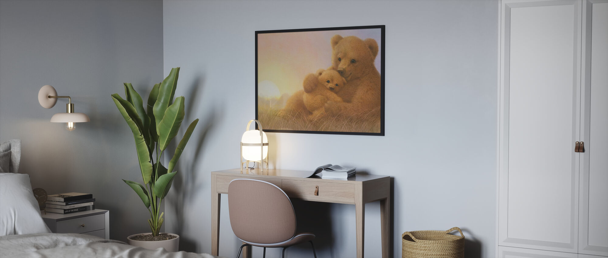 Bear Cub - Poster - Bedroom
