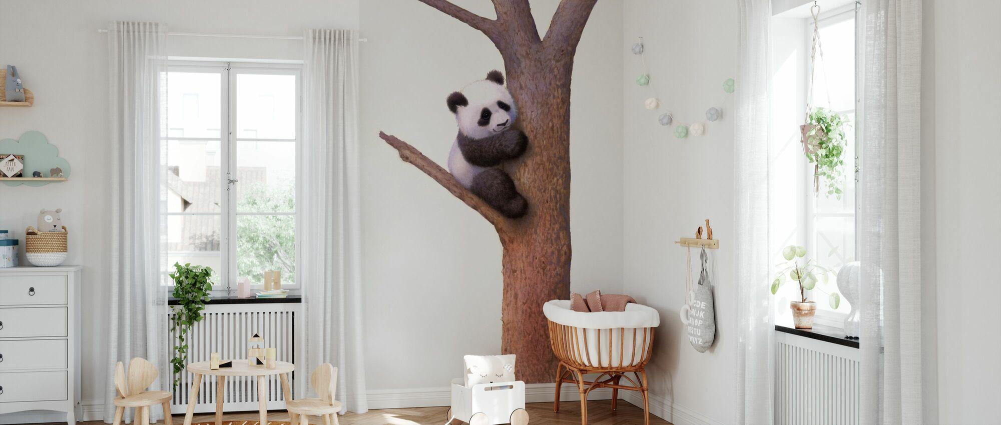 Panda Panda - Tapetti - Vauvan huone